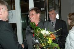 Frau Lasch, Herr Schimmel, WBG Oelsnitz eG